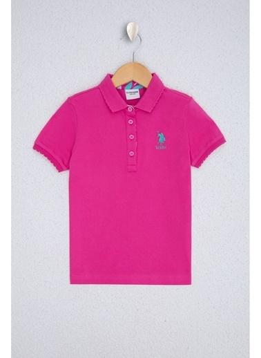 U.S. Polo Assn. U.S. Polo Assn. Fuşya Kız Çocuk T-Shirt Fuşya